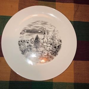 A K Kaiser antique decorative plate